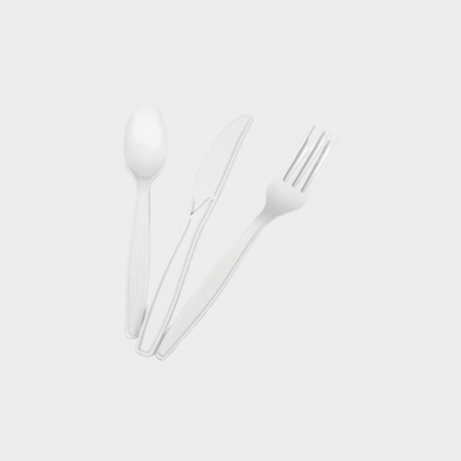 Bio Cutlery (Spoon, Fork, Knife)